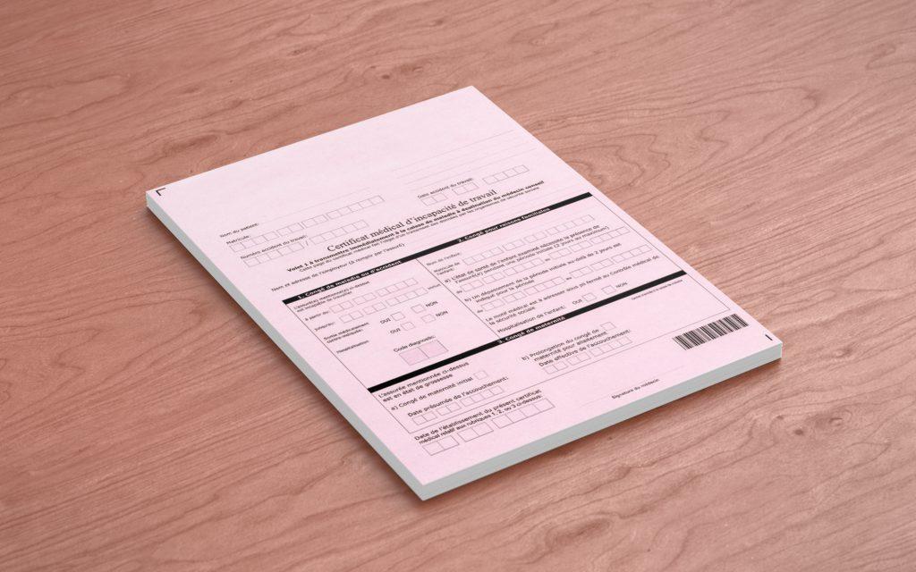 Documents médicaux - Constats d'incapacité