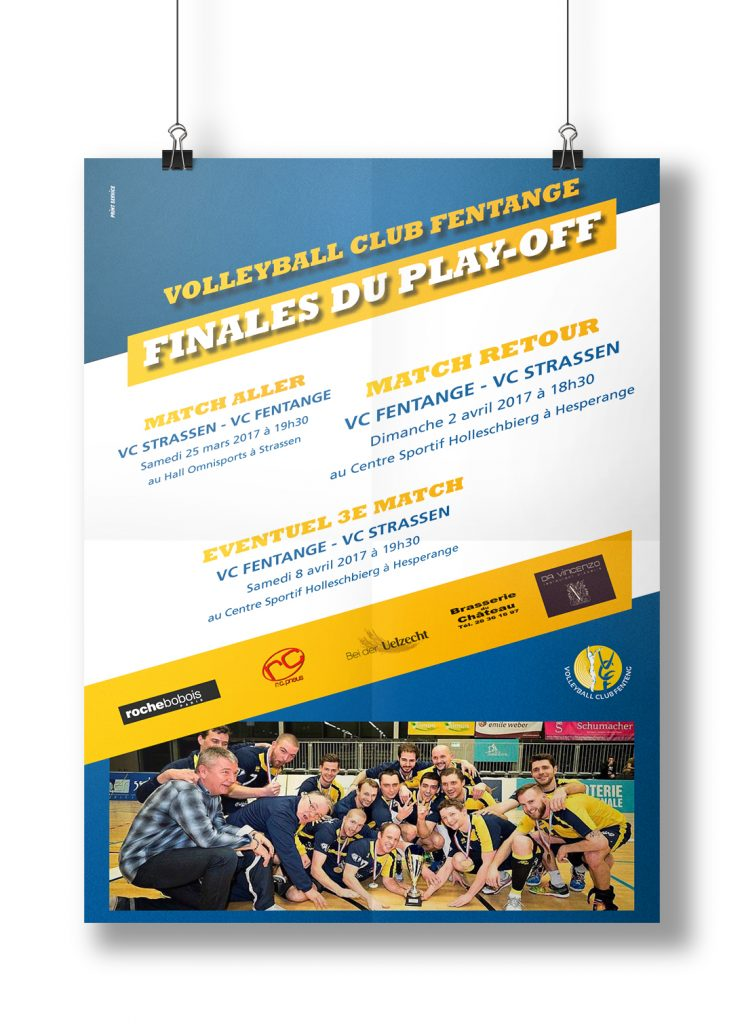 Affiche - VOLLEYBALL CLUB FENTANGE