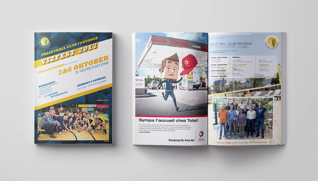 Brochure - VOLLEYBALL CLUB FENTANGE