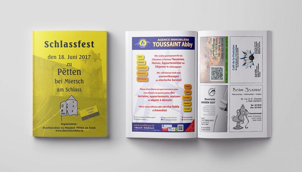 Brochure - DUERFSIECHTER VU MIESDREF, PËTTEN AN ESSEN